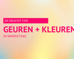 kleuren in geur marketing